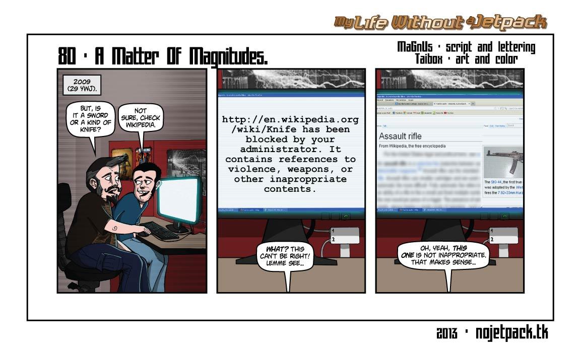 80 - A Matter Of Magnitudes.