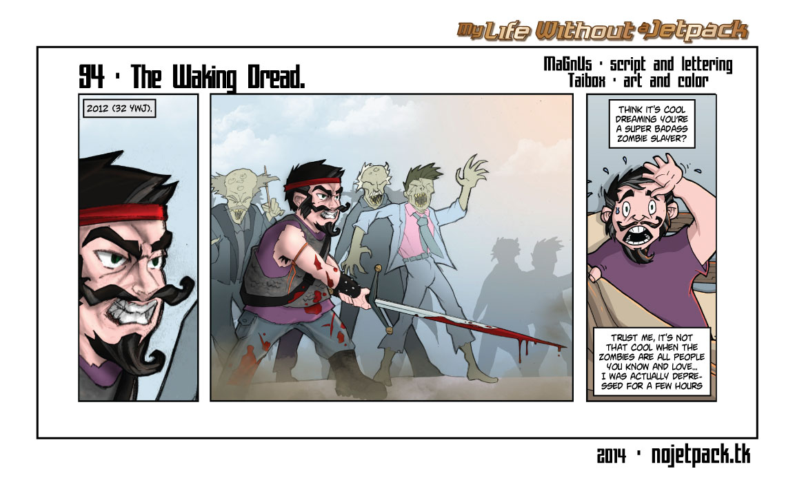 94 - The Walking Dread.