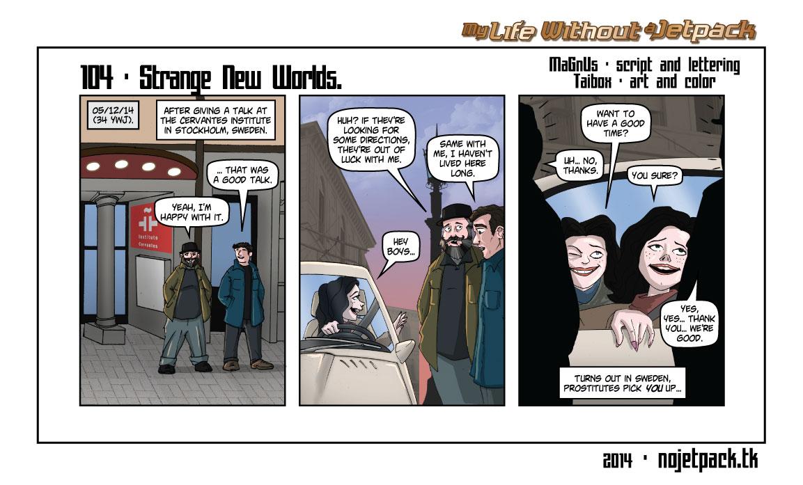104 - Strange New Worlds.