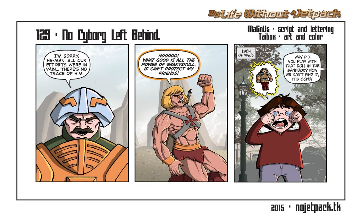 129 - No Cyborg Left Behind.